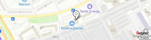 Компания по подбору автоэмалей на карте Магнитогорска