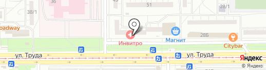 ГЕФЕСТ+ на карте Магнитогорска