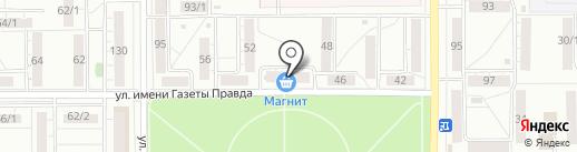 Аланта-сервис на карте Магнитогорска