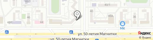 Салон штор и вышивки на карте Магнитогорска