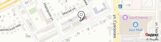Реставратор на карте Магнитогорска