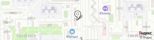 ОКОННАЯ И ФАСАДНАЯ ПРАКТИКА на карте Магнитогорска