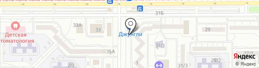 Нуга Бест на карте Магнитогорска