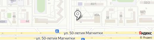 Окна Двери ФАВОРИТ на карте Магнитогорска