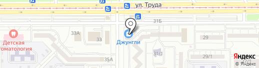 Лидер-Плюс на карте Магнитогорска