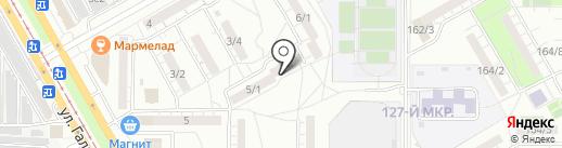 Служба грузчиков и перевозок на карте Магнитогорска
