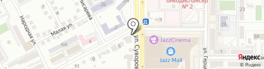 УралГаз-Авто на карте Магнитогорска