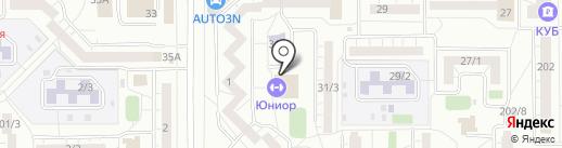 Олимпик на карте Магнитогорска