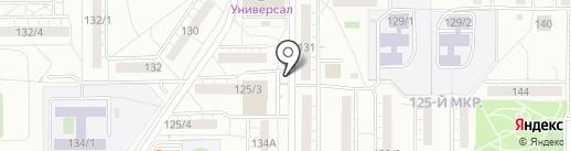 Киоск по ремонту обуви на карте Магнитогорска