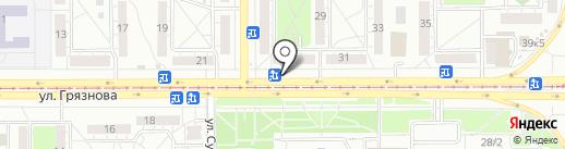 Частная пекарня на карте Магнитогорска