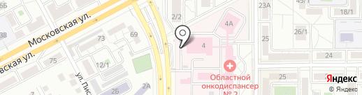 Квадро на карте Магнитогорска