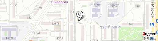 Мясной магазин на карте Магнитогорска