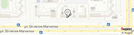 Дуэт на карте Магнитогорска