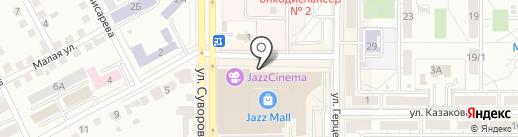 Metida на карте Магнитогорска