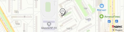 Центр повышения квалификации и информационно-методической работы на карте Магнитогорска