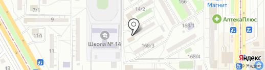 Промсвязьбанк, ПАО на карте Магнитогорска