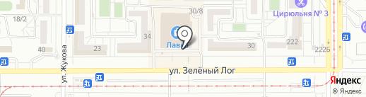 Мои документы на карте Магнитогорска