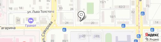 Геракл на карте Магнитогорска