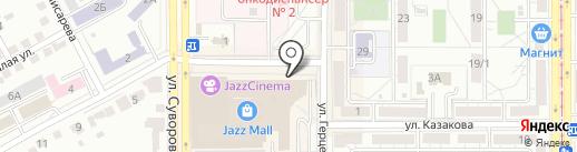 Вмоде на карте Магнитогорска