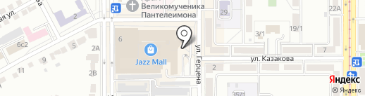 Студия дизайна Антона Сухарева на карте Магнитогорска