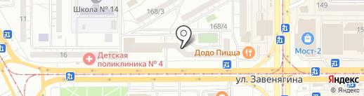 Магнитогорский Остеопатический Центр на карте Магнитогорска