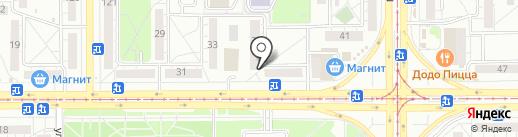 Магазин канцелярских товаров и офисной бумаги на карте Магнитогорска