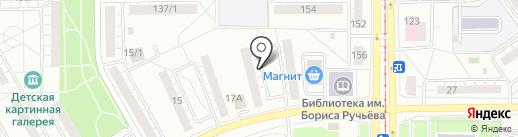 ТСЖ №7 на карте Магнитогорска