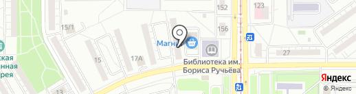 ТСЖ №8 на карте Магнитогорска