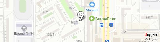 Престиж-Авто на карте Магнитогорска