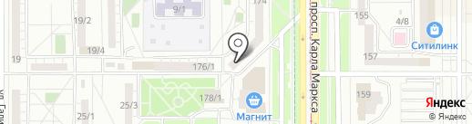МатрасНаЗаказ на карте Магнитогорска
