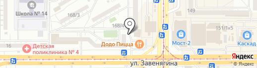 Магазин штор на карте Магнитогорска