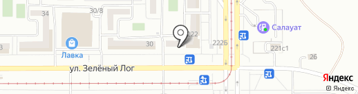 Ломбард Джин на карте Магнитогорска