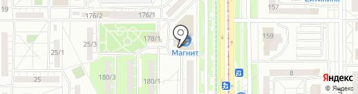 Резерв, КПК на карте Магнитогорска
