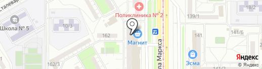 Фантазия на карте Магнитогорска