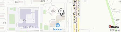 Ключ, Жилищно-инвестиционный фонд на карте Магнитогорска