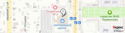 Магазин часов и дистанционных пультов на карте Магнитогорска