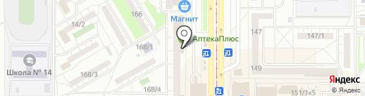 Банкомат, СКБ-банк, ПАО на карте Магнитогорска