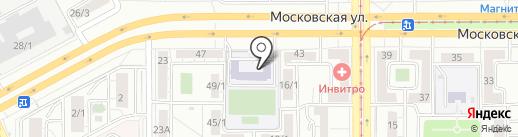 СтартАвто на карте Магнитогорска