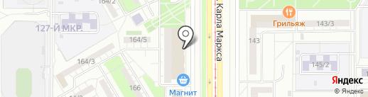 Абсолют-Сервис на карте Магнитогорска
