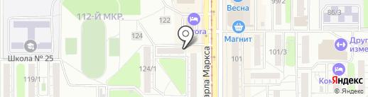 Президент на карте Магнитогорска