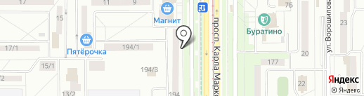 Мастерская по ремонту ювелирных изделий на карте Магнитогорска