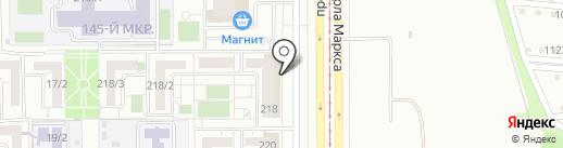 Всероссийское общество глухих на карте Магнитогорска