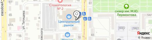 Эллада на карте Магнитогорска
