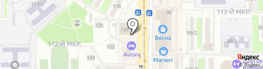Urals на карте Магнитогорска
