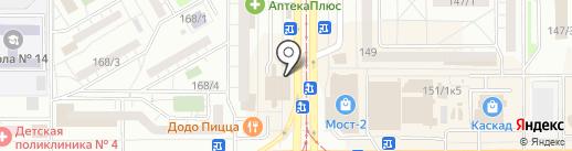 Tele2 на карте Магнитогорска