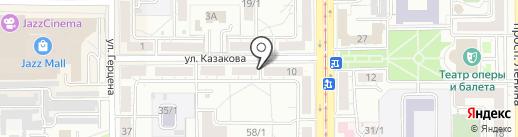 МагМетизы на карте Магнитогорска