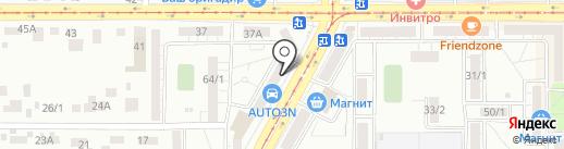 NailZone на карте Магнитогорска