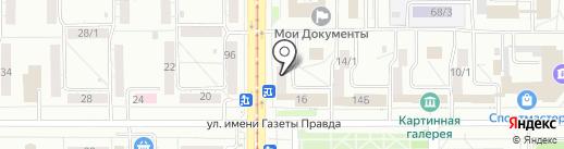 Рато Групп на карте Магнитогорска