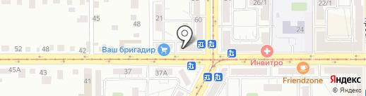 Мята на карте Магнитогорска