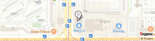 Магазин женской одежды на карте Магнитогорска